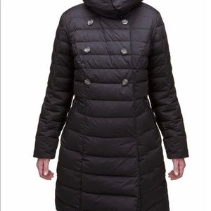 North Face Down Peacoat Puffer
